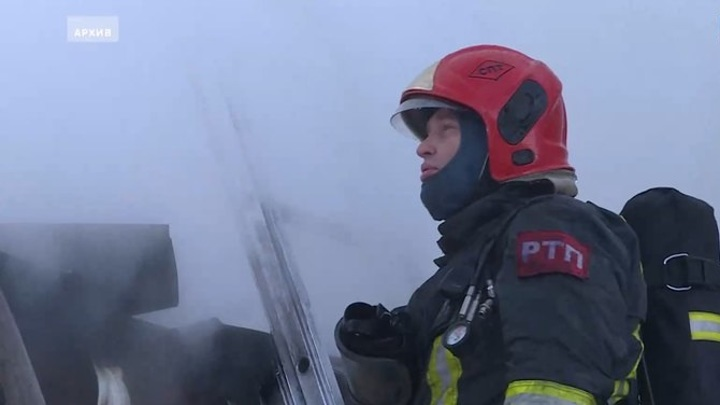Под Орлом в сгоревшем доме обнаружен труп мужчины