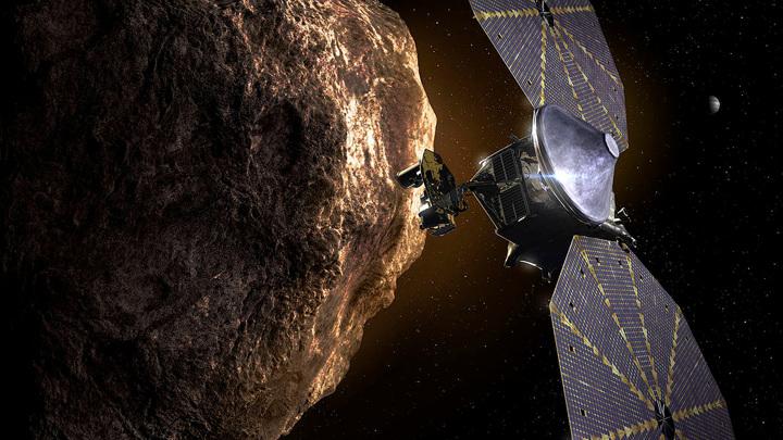 Люси посетит рекордные восемь астероидов за всё время своей миссии.