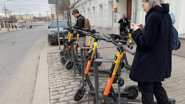 В России разработали ПДД для электросамокатов