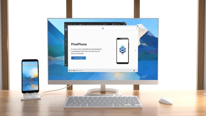 Представлен смартфон-компьютер на Linux за 400 долларов