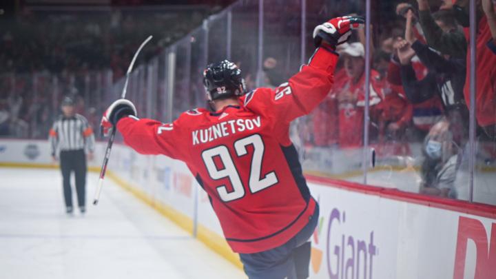 """Форвард """"Вашингтона"""" Кузнецов забросил первую шайбу в сезоне"""