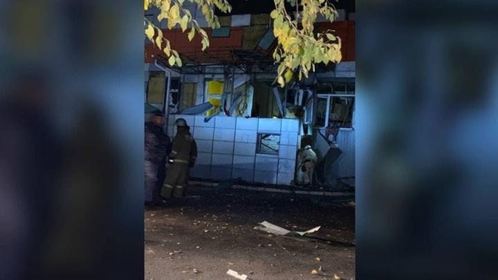 Появилось видео с места взрыва в Воронежской области