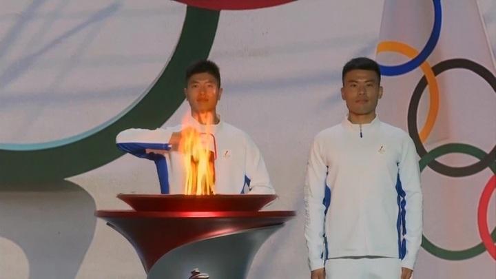 Олимпийский огонь прибыл в столицу Китая