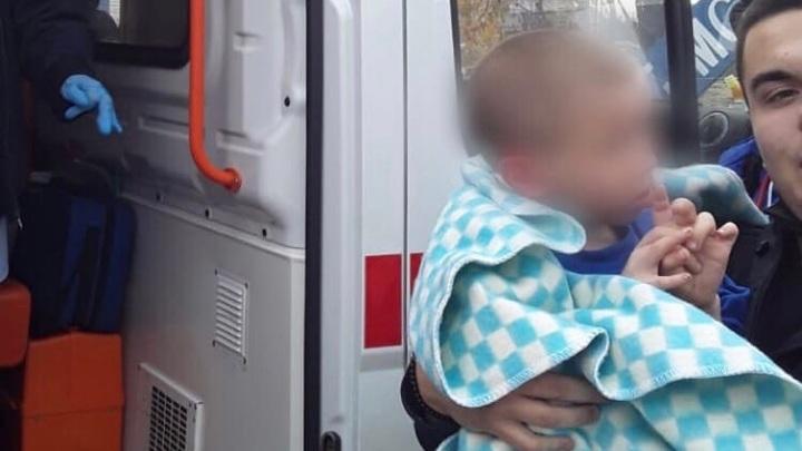 Родители спасенного от холода полураздетого ребенка были пьяны