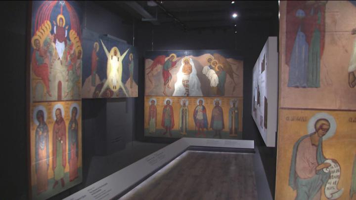 В Медонской церкви Святого Иоанна Воина во Франции отреставрировали росписи