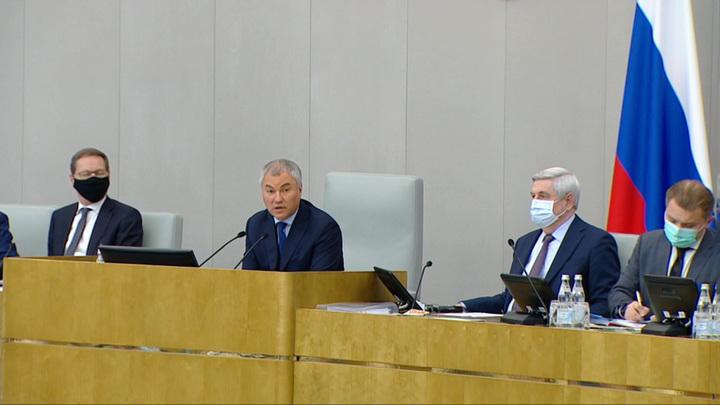 Володин предложил перевести депутатов без прививок на удаленку