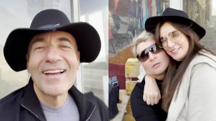 Игорь и Ольга Крутые, Николай Басков // Фото:instagram.com/igorkrutoy65