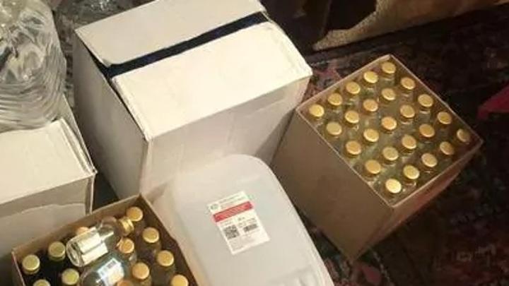 Объем изъятого суррогатного алкоголя в Свердловской области превысил 20 тонн
