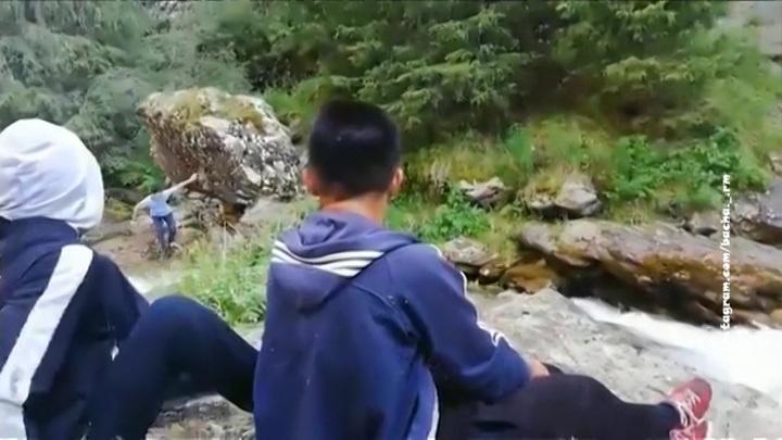 Роман с глыбой: как нельзя вести себя в горах