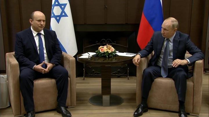 Переговоры Путина и Нафтали Беннета были продолжительными и конструктивными