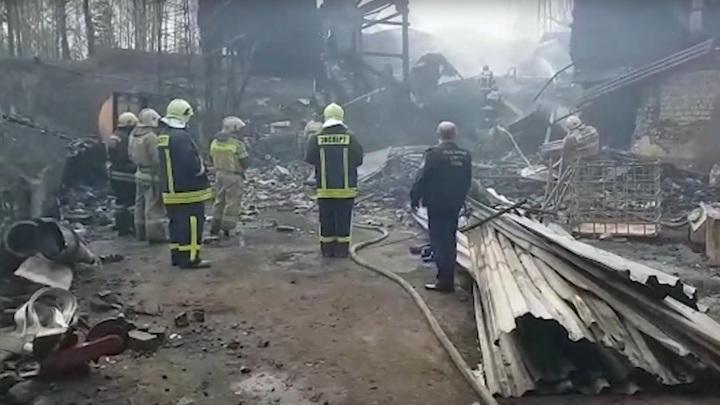 Извлечено тело последней жертвы пожара на пороховом заводе