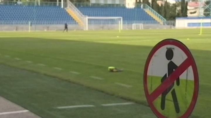 В Крыму футболиста дисквалифицировали на полгода за драку у стадиона