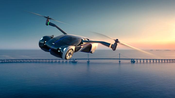 В Китае анонсировали автомобиль-вертолет