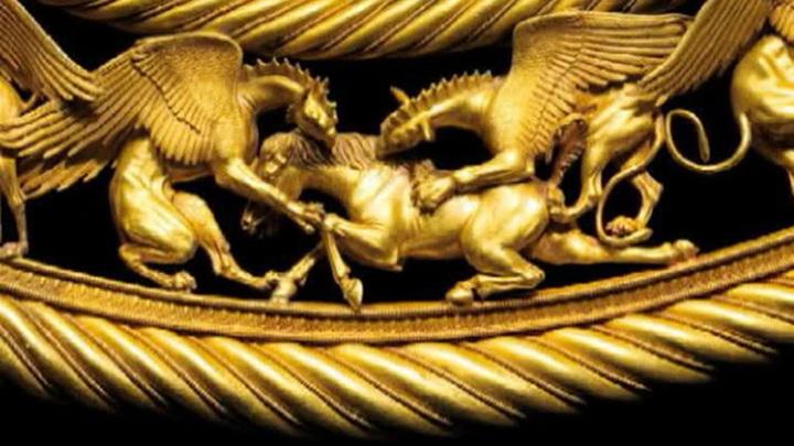 Крымские сокровища: скифское золото отдадут Украине