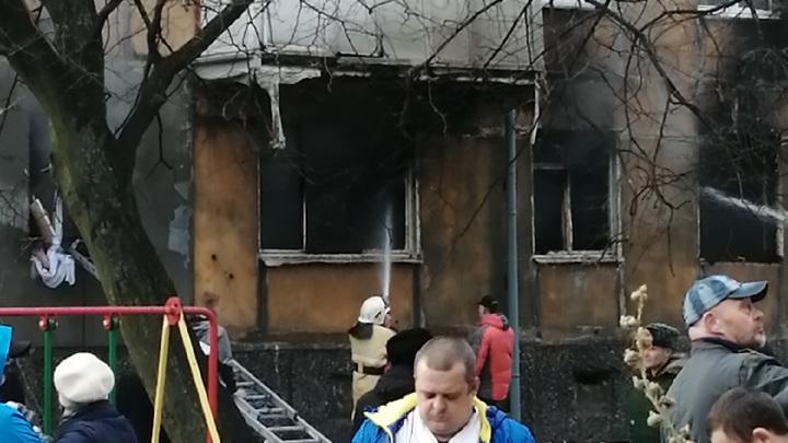 Пожар в доме в Балтийске, где произошел хлопок газа, потушили