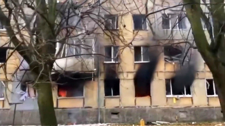 В Балтийске произошел взрыв газа в жилом доме