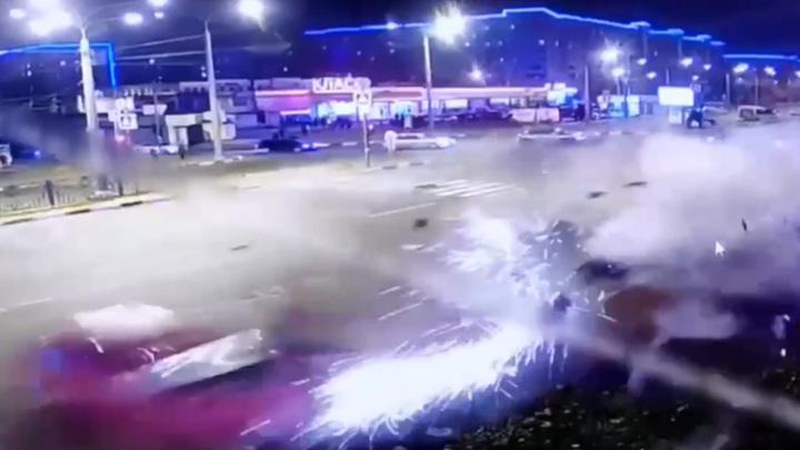 В Харькове 16-летний подросток устроил страшное ДТП. Видео