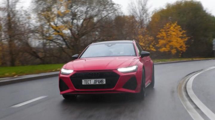 Машина с системой ночного видения: две ипостаси одного Audi