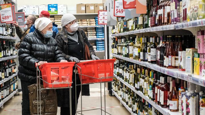 В нерабочую неделю в Москве закроют мелкие алкомагазины