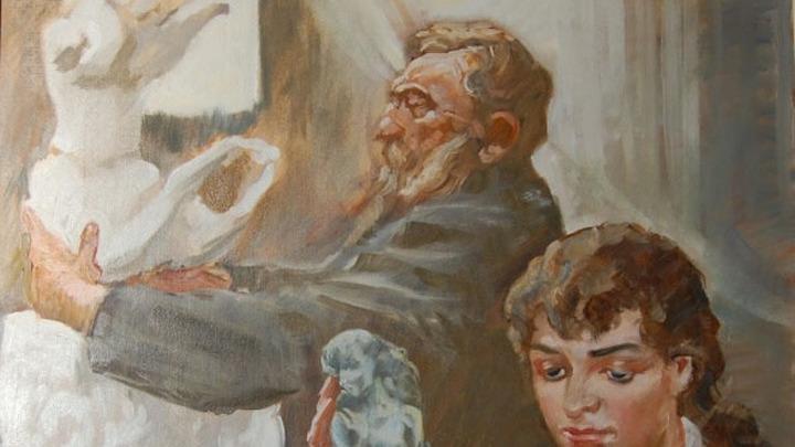 Огюст Роден и Камилла Клодель