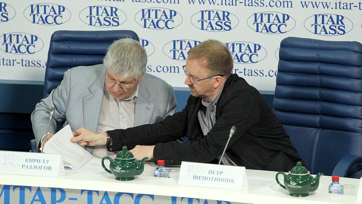 Кирилл Разлогов и Петр Шепотинник / Автор: Вадим Шульц