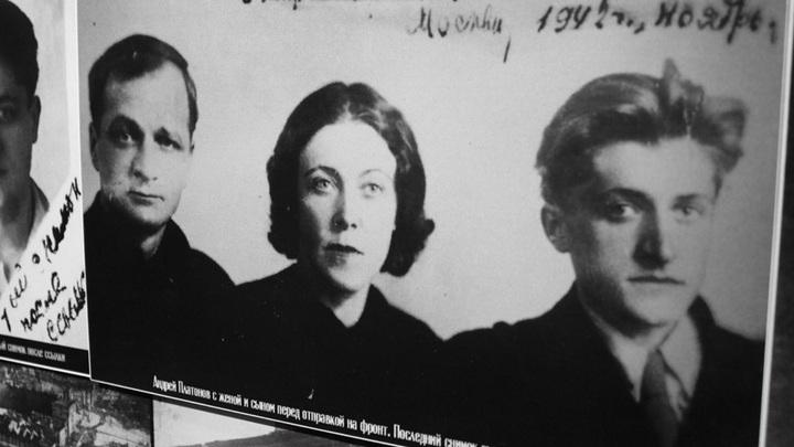 Москва, 1942 год. Фото из экспозиции в литературном музее, Воронеж.
