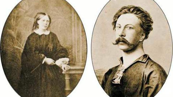 Алексей и Константинович Толстой и Софья Андреевна Миллер (Толстая)