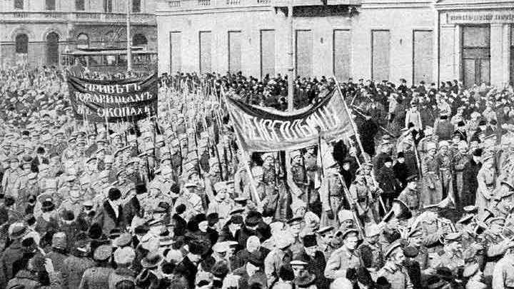 1917 год в исторической судьбе России