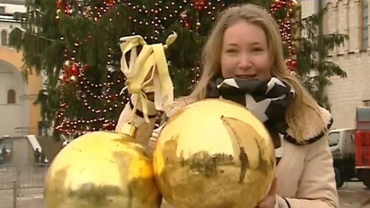 Главная новогодняя елка страны предстала во всей красе