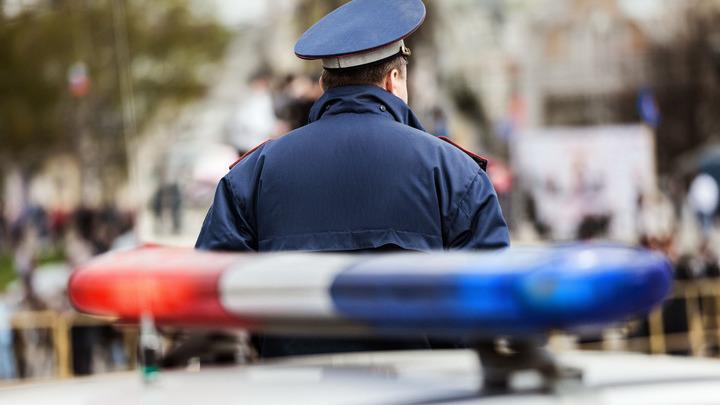 На Кутузовском проспекте в Москве произошла крупная авария с автомобилем ГИБДД