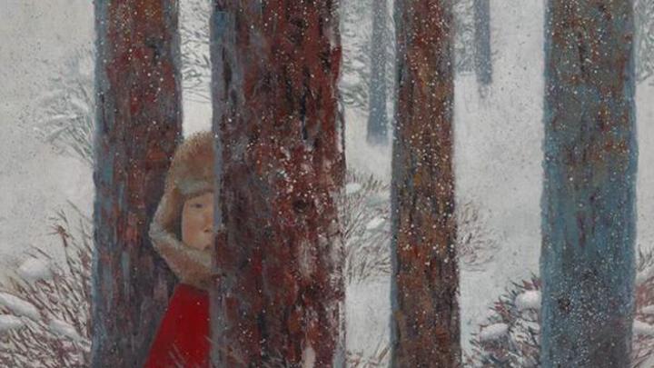 """Зорикто Доржиев """"Снегопад"""", 2015  / Автор: Фото предоставлено пресс-службой галереи """"Ханхалаев"""""""