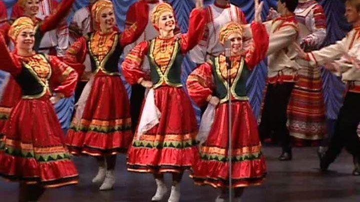 """В Москве прошел гала-концерт участников фестиваля """"Танцуй и пой, Россия молодая!"""""""